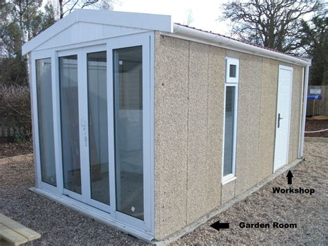 Patio Sted Concrete by Leosheds Concrete Sheds