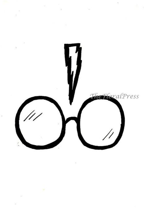 doodle glasses meaning harry potter easy drawings along with how to draw chibi
