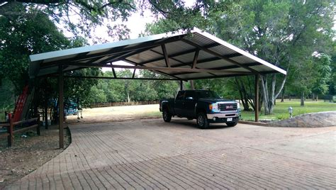 Large Car Port by Metal Carports And Covers In Tx Metalink