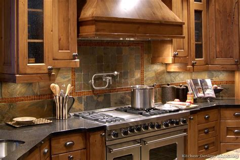rustic backsplash rustic kitchen designs pictures and inspiration