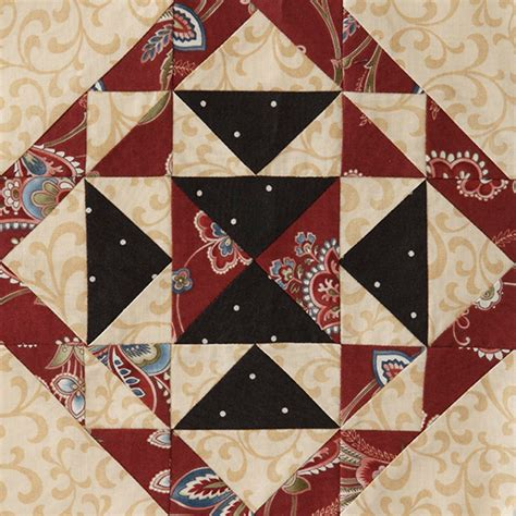 American Patchwork Quilting Patterns - block of the month block 3 allpeoplequilt