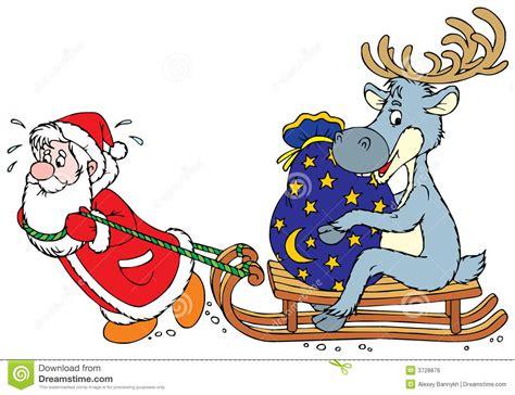 Reindeer clipart santa claus reindeer - Pencil and in ... Free Clip Art Santa And Reindeer
