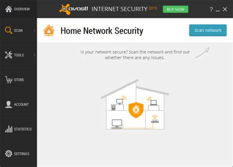 virus scanner avast 2015 checks router and network