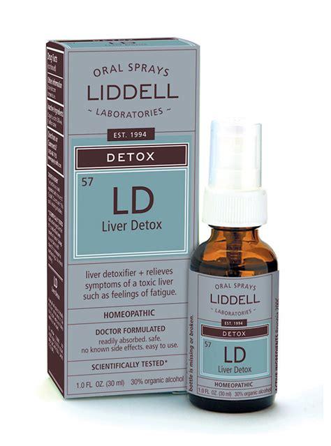 Organic Pharmacy Detox Side Effects by Liver Detox Liddell Laboratories