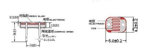 photoresistor data diameter 5mm ldr sensor light dependent resistor sensor cds photo cell buy light dependent
