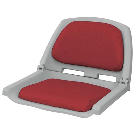 red fishing boat seats wise 174 folding fishing boat seat 204008 fold down seats