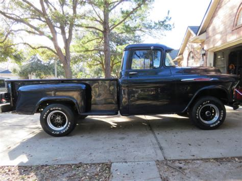 1957 chevy stepside pick up 1957 chevy 3200 pickup stepside