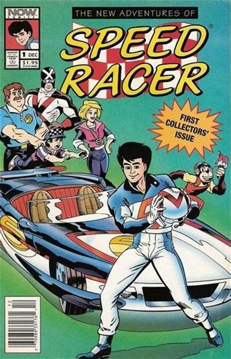 now 1 the new comics anthology the new adventures of speed racer now comics 1 on