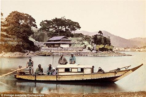 boat show japan japanese transport 100 years ago in pictures daily mail