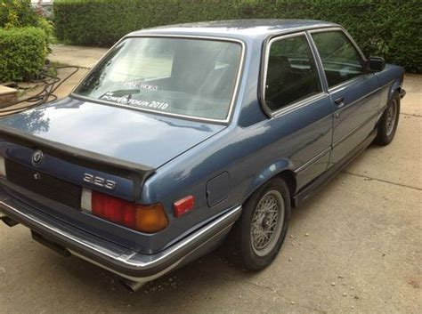 find used 1980 bmw 3 series w alpina mods to suspension