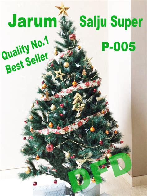 Pohon Natal 1 jual pohon natal ukuran 1 5 meter jarum salju