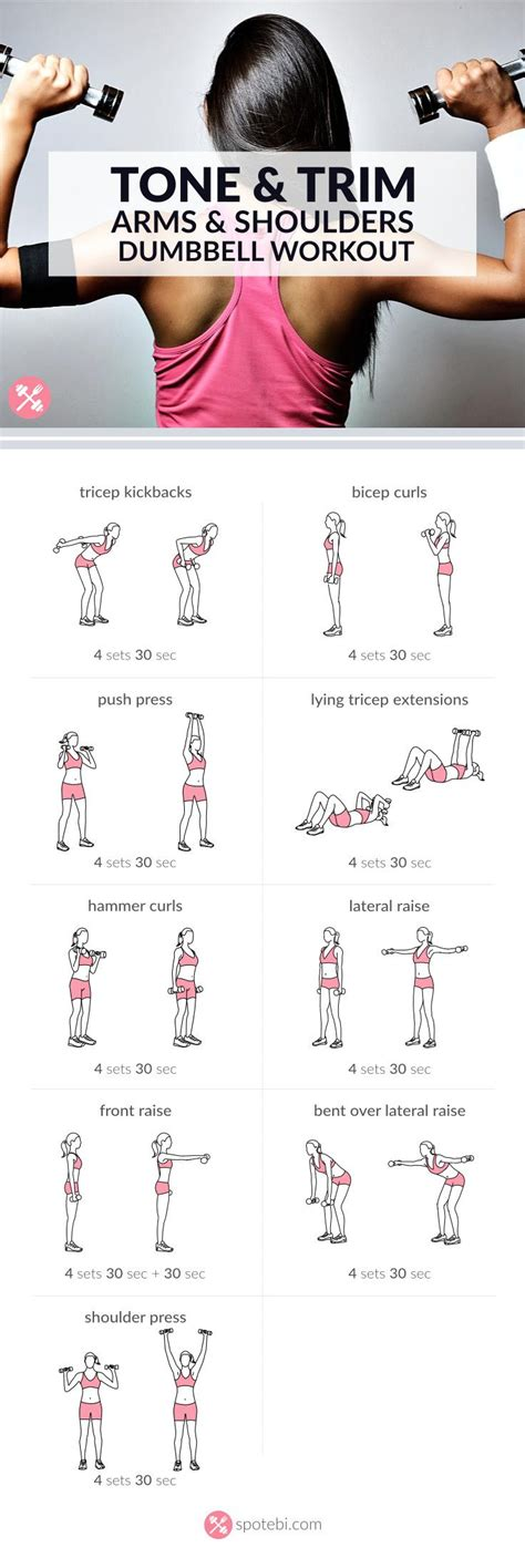 dumbbell exercises dumbbell exercises arm