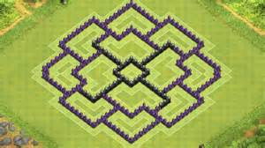 Clash of clans town hall 8 defense coc th8 best farming base layout