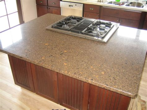 blue quartz countertops in kitchen