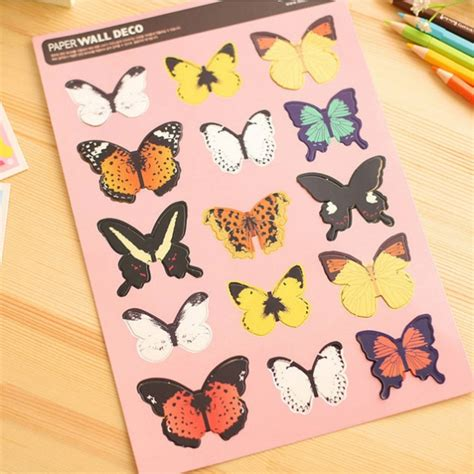 decorative wall stickers uk butterfly decorative stickers wall stickers