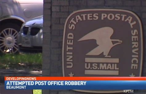 Beaumont Post Office by Postal Service Offering 25k For Who Attempted