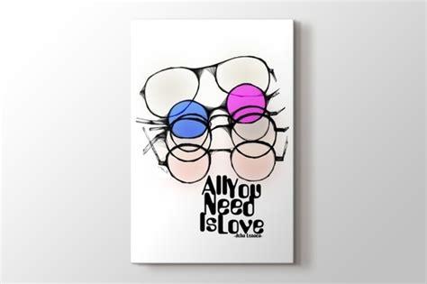 Tipografi Lennon lennon tipgrafi kanvas tablolar pluscanvas