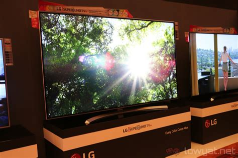 Harga Lg Curved Tv lg launches its 4k oled tvs in malaysia retail