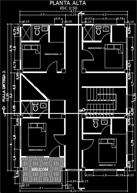 storey house  dwg plan  autocad designscad