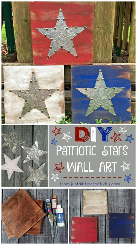 americana home style not just for july 4th anymore a glimpse inside diy metal and wood patriotic stars 4th
