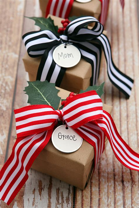 brown christmas gifts gift wrapping ideas eighteen25