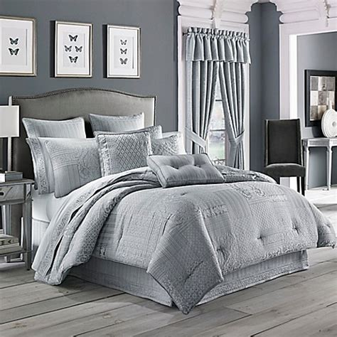 comforter sets queen bed bath and beyond buy j queen new york wilmington full comforter set in