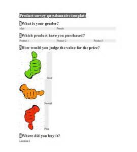 Qualitative Questionnaire Template by 30 Questionnaire Templates Word Template Lab