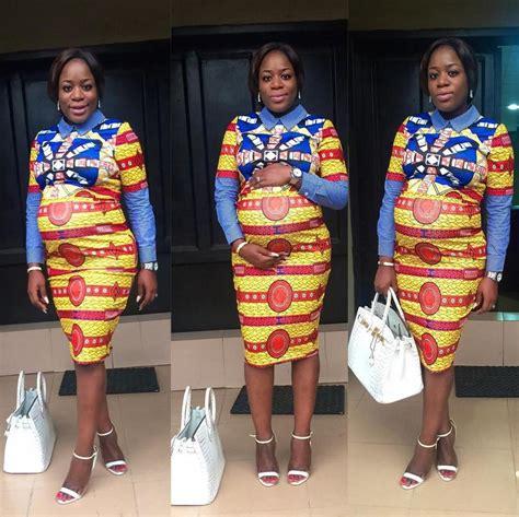 bump short with ankara bn style your bump ella mo adenugba edition bellanaija