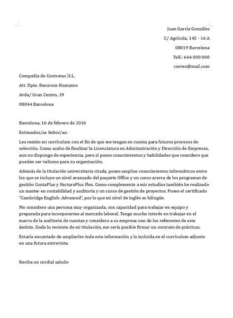 Modelo Carta De Presentacion Curriculum Ingles Carta De Presentaci 243 N Definici 243 N Y Ejemplos