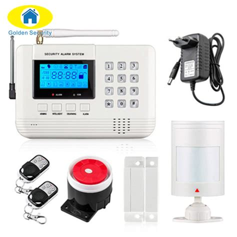 Home Alarm Systems Manufacturer Alarmvip Golden Security Wireless Wired 433 Mhz Dual Network Gsm