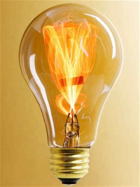 Gas L Filament by 15 Watt Carbon Filament Quot Balafire Flicker Quot Light Bulb Flickering Light Bulbs B0049153bw