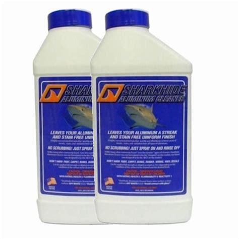 aluminium boat cleaning products sharkhide aluminum cleaner