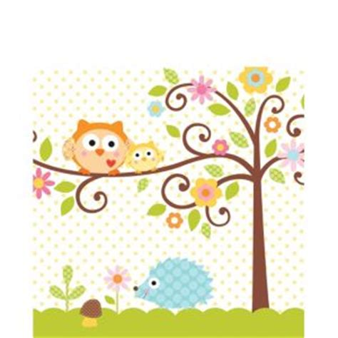 Owl Baby Shower Decorations Canada by Owl Baby Shower Lunch Napkins 16ct City