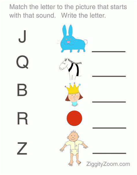 printable toddler matching worksheets printable worksheet preschool letters ziggity zoom