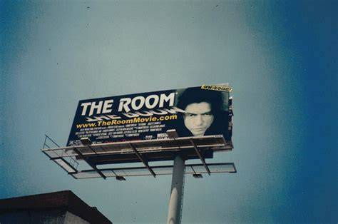 the room billboard the room poster and billboard fonts in use