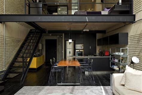 Pad Interiors by Industrial Bachelor Pad Loft In Brazil Hiconsumption