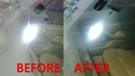 buffing light scratches out of a car permanent windshield scratch removal repair with cerium