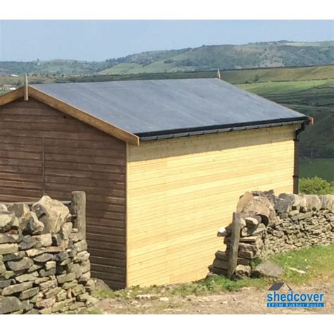 Shed Roof Covering by Epdm Rubber Membrane Shed Kit Select Various Shed Kit Sizes Ebay