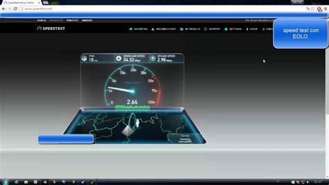 test eolo fastweb vs eolo speed test