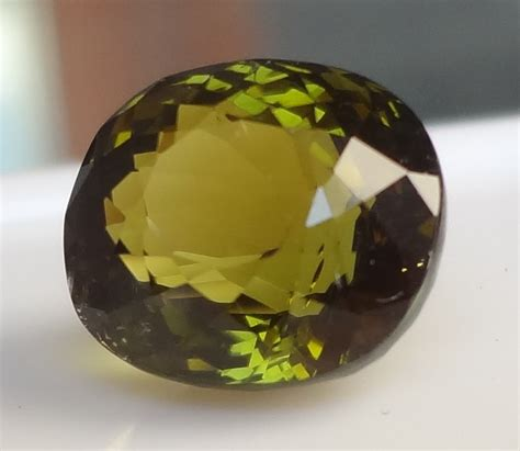 Green Tourmaline 5 25 Ct gems with 3 5 ct olive green tourmaline