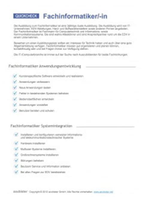 Anschreiben Bewerbung Ausbildungsplatz Fachinformatiker Systemintegration bewerbung ausbildung fachinformatiker systemintegration
