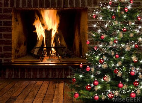 cristmas fireplaces home design and interior decorating