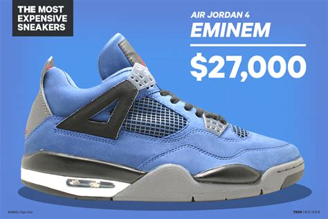 most expensive sports shoes in the world the 17 most expensive sneakers in history from air