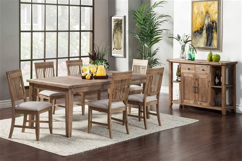 alpine furniture aspen 7 dining set costa