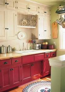colored cabinets stylish two tone kitchen cabinets for your inspiration