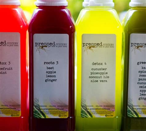 Juice Press Detox Reviews by My Pressed Juicery 3 Day Cleanse Juice Bonanza