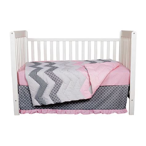 Jcpenney Crib Bedding Sets Trend Lab 174 3 Pc Cotton Crib Bedding Set Jcpenney