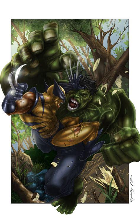imagenes wolverine vs hulk hulk vs wolverine by mrwills on deviantart