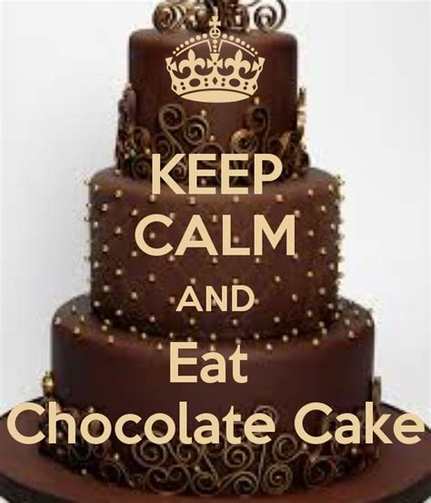 imagenes de keep calm and eat chocolate a sale on a serial because of nationalchocolatecakeday