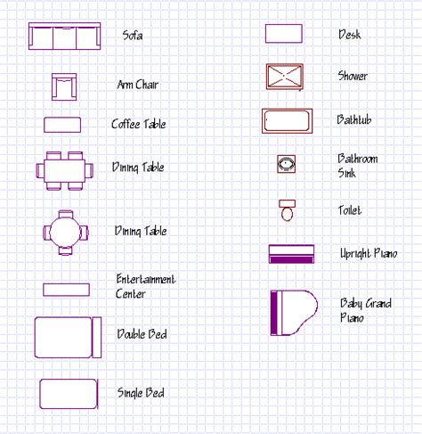 architectural drawing symbols furniture 2017 2018 best